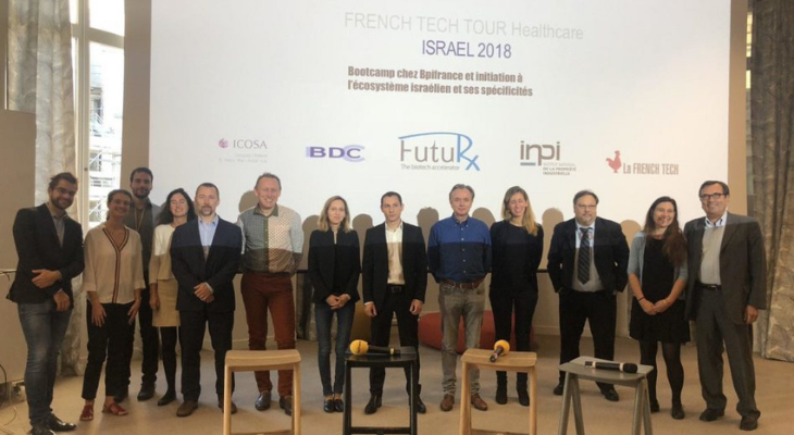 French Healthcare Tech Tour Israel 2018