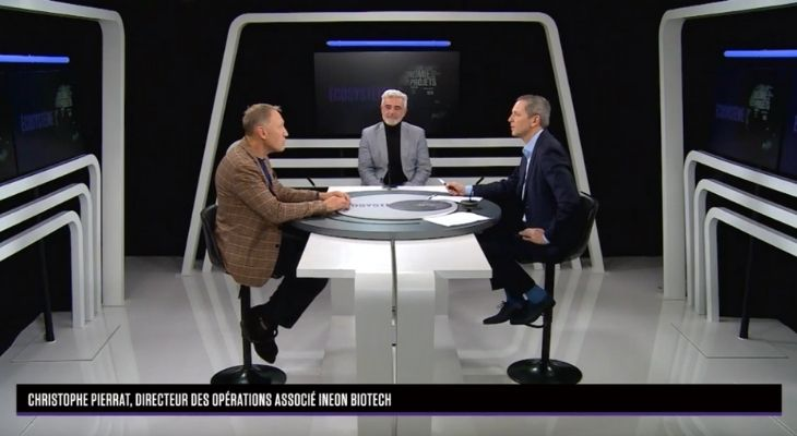 Interview stage of Ineon Biotech on B Smart with Thomas Hugues - March 2021